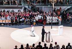 02.12.2017, Olympiahalle, Innsbruck, AUT, Bischofsweihe von Hermann Glettler, im Bild Bischof Hermann Glettler // Bishop Hermann Glettler during the Mass of the Episcopal ordination of him at the Olympiahalle in Innsbruck, Austria on 2017/12/02. EXPA Pictures © 2017, PhotoCredit: EXPA/ JFK