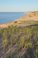 Grand Sable Dunes. Classic example od perched dunes. Pictured Rocks National Lakeshore Michigan