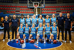 Team Slovenia during basketball match between Women National teams of Hungary and Slovenia in Group phase of Women's Eurobasket 2019, on June 27, 2019 in Sports Center Cair, Nis, Serbia. Photo by Vid Ponikvar / Sportida