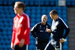 September 3, 2018 - Oslo, NORWAY - 180903 Lars Lagerbäck, head coach of Norway, during a training session on September 3, 2018 in Oslo..Photo: Jon Olav Nesvold / BILDBYRÃ…N / kod JE / 160302 (Credit Image: © Jon Olav Nesvold/Bildbyran via ZUMA Press)