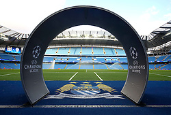 A general view of The Etihad Stadium during the UEFA Champions League group stage match between Manchester City and Juventus at the Etihad Stadium - Mandatory byline: Matt McNulty/JMP - 07966386802 - 15/09/2015 - FOOTBALL - Etihad Stadium -Manchester,England - Manchester City v Juventus - UEFA Champions League - Group D