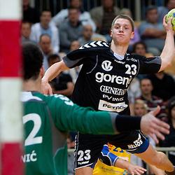 20110420: SLO, Handball - 1. SRL, RK Cimos Koper vs Gorenje Velenje