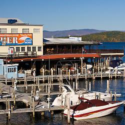 Winnipesauke pier at Weirs Beach in Laconia, New Hampshire.