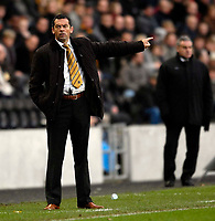 Photo: Jed Wee/Sportsbeat Images.<br /> Hull City v Cardiff City. Coca Cola Championship. 01/12/2007.<br /> <br /> Hull manager Phil Brown.