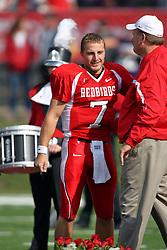 27 October 2007:  Luke Drone. The Western Illinois Leathernecks beat up on the Illinois State Redbirds  27-14 at Hancock Stadium on the campus of Illinois State University in Normal Illinois.