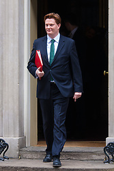 London, March 24th 2015. Members of the Cabinet gather at Downing street for their weekly meeting. PICTURED: Chief Secretary to the Treasury, Danny Alexander