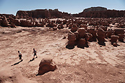 SHOT 5/22/17 10:11:40 AM - Emery County is a county located in the U.S. state of Utah. As of the 2010 census, the population of the entire county was about 11,000. Includes images of mountain biking, agriculture, geography and Goblin Valley State Park. (Photo by Marc Piscotty / © 2017)