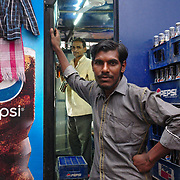 Working at a soft drink stand in Amritsar