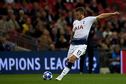 October 3, 2018 - London, England, United Kingdom - Eric Dier of Tottenham shooting to goal during the Group B match of the UEFA Champions League between Tottenham Hotspurs and FC Barcelona at Wembley Stadium on October 03, 2018 in London, England. (Credit Image: © Jose Breton/NurPhoto/ZUMA Press)