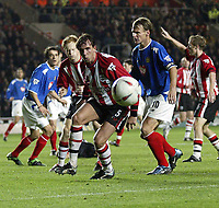 SOUTHAMPTON V PORTSMOUTH CARLING CUP 02/12/2003 (2-0) <br />