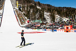 Robert Kranjec (SLO) reacts during the Qualification Round of the Ski Flying Hill Individual Competition at Day 1 of FIS Ski Jumping World Cup Final 2019, on March 21, 2019 in Planica, Slovenia. Photo by Vid Ponikvar / Sportida