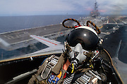 F-14 cat shot off USS Kitty Hawk.  Released(Twomey).