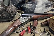 Parker GH Grade Shotgun and Duck Hunting Gear