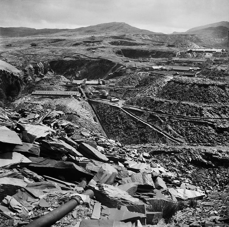 Oakley State Quarries at Blanau Ffestiniog, Wales, circa1931