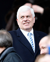 Photo: Steve Bond/Richard Lane Photography. Leicester City v Cardiff City. Coca Cola Championship. 13/03/2010. Peter Ridsdale before the game