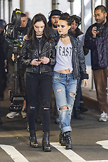 Natalie Portman filming Vox Lux - 28 Feb 2018