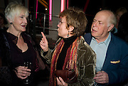 SHEILA HANCOCK; JULIE WALTERS; CLIVE SWIFT, The Actors Centre's 30th Birthday Party. 1a Tower St, Covent Garden. London. 2nd November<br /> *** Local Caption *** -DO NOT ARCHIVE -Copyright Photograph by Dafydd Jones. 248 Clapham Rd. London SW9 0PZ. Tel 0207 820 0771. www.dafjones.com