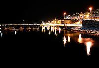 Ålesund 12012011.<br /> Småbåthavnen ved Sunnmørshallen og innfartsveien i Ålesund.<br /> <br /> The marina next to Sunnmørshallen in Aalesund.<br /> <br /> Foto: Svein Ove Ekornesvåg