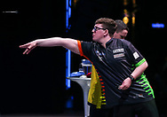 Keane Barry during the Youth Final st The BDO World Professional Championships at the O2 Arena, London, United Kingdom on 11 January 2020.