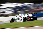 October 15-17, 2020. IMSA Weathertech Petit Le Mans: #30 Team Hardpoint, Audi R8 GT3, Rob Ferriol, Markus Winkelhock, Andrew Davis