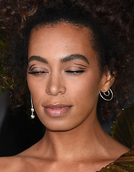 Celebrities arrive on the red carpet for the 59th Grammy Awards held at the Staples Centre in downtown Los Angeles, California. 12 Feb 2017 Pictured: Solange Knowles. Photo credit: MEGA TheMegaAgency.com +1 888 505 6342