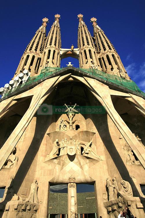 July 21, 2019 - Cathedral Sagrada Familia In Barcelona, Spain (Credit Image: © Peter Zoeller/Design Pics via ZUMA Wire)