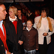 Russisch Kerstcircus 2003, Sylvia Toth + vriend, Ria Lubbers en
