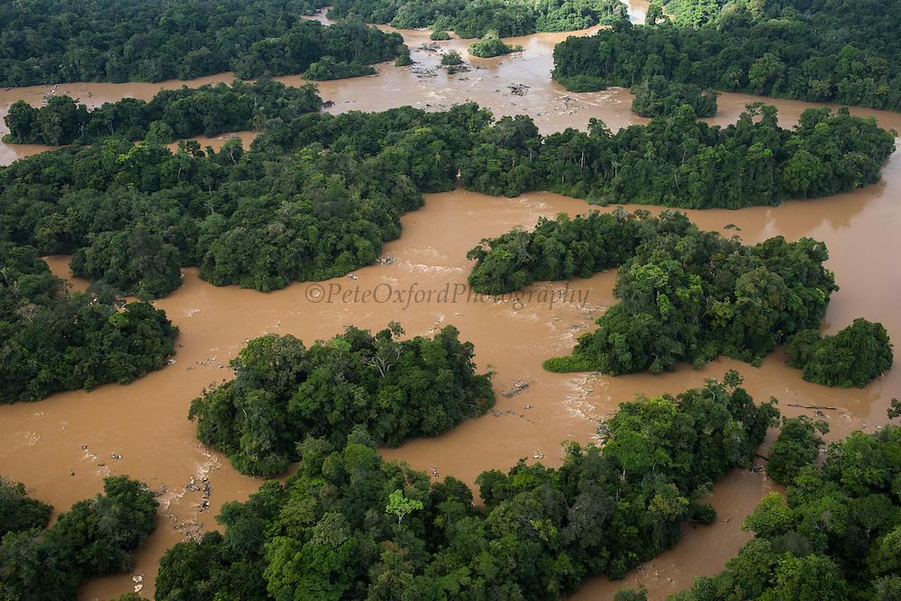 Cuyuni River<br /> GUYANA<br /> South America<br /> Longest river in Guyana