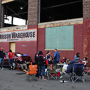 Tailgating before the New York Red Bulls Vs Toronto FC, Major League Soccer regular season match at Red Bull Arena, Harrison, New Jersey. USA. 11th October 2014. Photo Tim Clayton