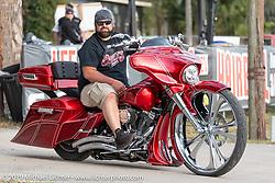 Broken Spoke Saloon in Ormond Beach during Daytona Beach Bike Week, FL. USA. Wednesday, March 13, 2019. Photography ©2019 Michael Lichter.