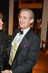 TIM GOSLING at a party to celebrate the publication of Interiors For Living by Joanna Wood held at Christie's. 8 King Street, St.James's, London on 2nd March 2015.