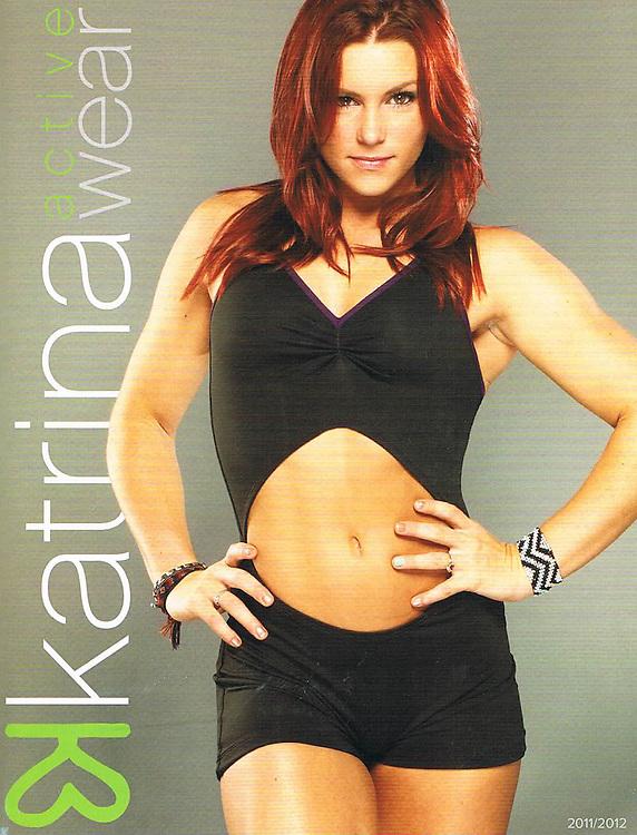 The Katrina Wear 2011 catalogue cover.