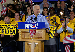 April 29, 2019 - Pittsburgh, Pennsylvania, U.S - JOE BIDEN kicks of his presidential campaign speaking to union members. (Credit Image: © Preston Ehrler/ZUMA Wire)
