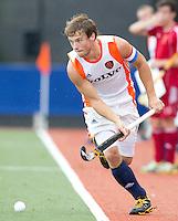 DEN BOSCH -   Roel Bovendeert tijdens de wedstrijd tussen de mannen van Jong Oranje  en Jong Engeland, tijdens het Europees Kampioenschap Hockey -21. ANP KOEN SUYK