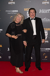 Lynn Eastman and Leo Rossi attending a party in Honour of John Travolta's receipt of the Inaugural Variety Cinema Icon Award during the 71st annual Cannes Film Festival at Hotel du Cap-Eden-Roc in Cap d'Antibes, France on May 15, 2018 as part of the 71st Cannes Film Festival. Photo by Nicolas Genin/ABACAPRESS.COM