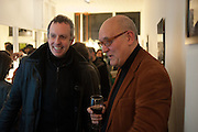 DEAN CHAKELEY; ROBERT ROOPE, Black Eye eyewear's 1st Birthday, 38 Goodge Street,  London. W1. 16 January 2014.
