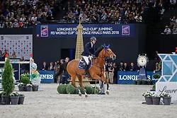 Devos Pieter, BEL, Espoir<br /> LONGINES FEI World Cup™ Finals Paris 2018<br /> © Dirk Caremans<br /> 15/04/18