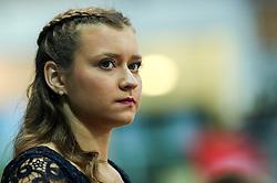 Hostess Katja Conc during Finals of Artistic Gymnastics FIG World Challenge Koper 2019, on June 2, 2019 in Arena Bonifika, Koper, Slovenia. Photo by Matic Klansek Velej/ Sportida