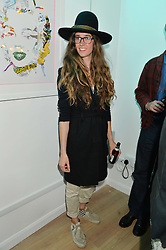 SOPHIA PACK at a private view of an exhibition entitled 'All Shook Up' - by Natasha Archdale: A Retrospective held at 90 Piccadilly, London on 23rd April 2015.
