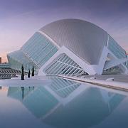 La Hemisferico (reflection), Valencia, Spain (December 2006)
