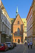 Kościół św. Franciszka z Asyżu w Krakowie, Polska<br /> Church of St. Francis of Assisi in Cracow, Poland