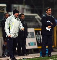 Photo: Paul Greenwood.<br />Preston North End v Norwich City. Coca Cola Championship. 20/02/2007. Preston Manager Paul Simpson