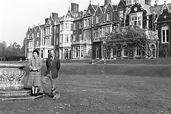 File photo dated 06/02/82 of Queen Elizabeth II and the Duke of Edinburgh posing in the grounds of Sandringham House, Norfolk, to mark the 30th anniversary of the Queen's accession to the throne. The Queen privately owns Sandringham House and its vast surrounding estate, which includes 16,000 acres of farmland, 3,500 acres of woodland and 150 properties. Philip took on overall responsibility for the management of the estate at the start of the QueenÕs reign in 1952. He concentrated on maintaining it for future generations, ensuring conservation was at the heart of the way it was run. The Duke of Edinburgh spent much of his retirement at Wood Farm on the Sandringham estate. Issue date: Friday April 9, 2021.