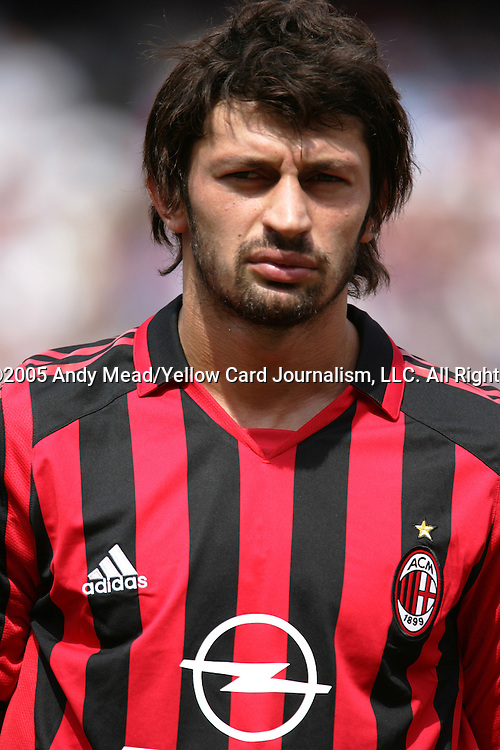 31 July 2005: Kahka Kaladze. Chelsea FC of England and AC Milan of Spain tied 1-1 at Giants Stadium in East Rutherford, New Jersey in an international friendly soccer match as part of AEG's 2005 World Series of Football. .