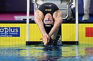 TOUSSAINT Kira Netherlands NED <br /> Women's 100m Backstroke Preliminary <br /> Glasgow 04/12/2019<br /> XX LEN European Short Course Swimming Championships 2019<br /> Tollcross International Swimming Centre<br /> Photo Andrea Staccioli / Deepbluemedia / Insidefoto