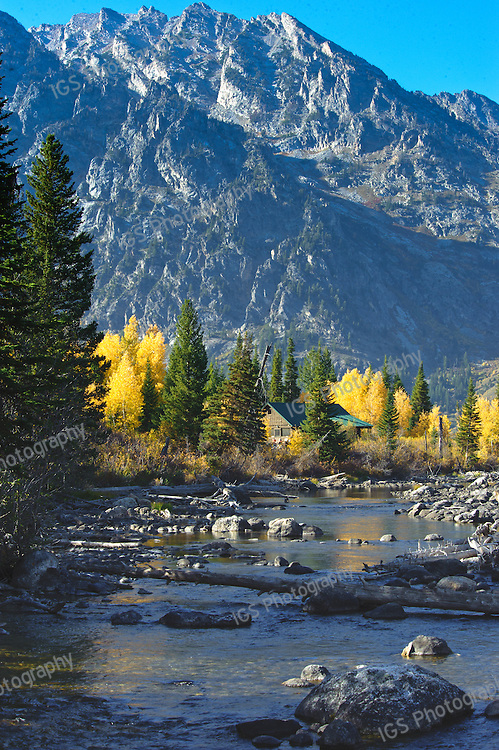 CottonWood Creek - located at the foot of the Teton Range at Jenny Lake
