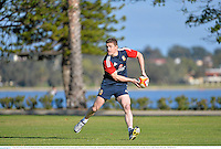 3 June 2013; Brian O'Driscoll, British & Irish Lions, in action during squad training ahead of their game against Western Force on Wednesday. British & Irish Lions Tour 2013, Squad Training, Langley Park, Perth, Australia. Picture credit: Stephen McCarthy / SPORTSFILE