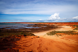 Storms build at James Price Point, on the Kimberley coast 60km north of Broome, is site of a proposed LNG processing hub.  This image was taken during a shoot with photographers from the West Australian newspaper on New Year's Eve 2008.