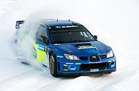 MOTORSPORT - WRC 2007 - SWEDISH RALLY - KARLSTAD 08/02 TO 11/02/07 <br /> PETTER SOLBERG (NOR) - PHILIP MILLS / SUBARU Norway only