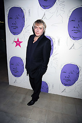 """NICK RHODES at an exhibition of work by Andy Warhol entitled """"Other Voices, Other Rooms"""" at The Hayward Gallery, Southbank Centre, London SE1 on 6th October 2008."""